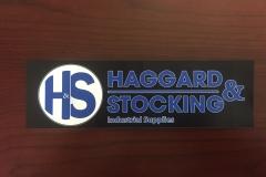 Vinyl Label Haggard Stocking