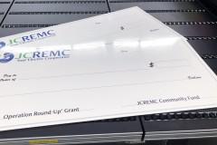 Big Dry Erase Sign Check