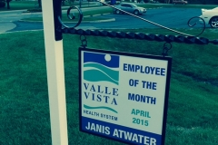 Valle Vista Employee of the month
