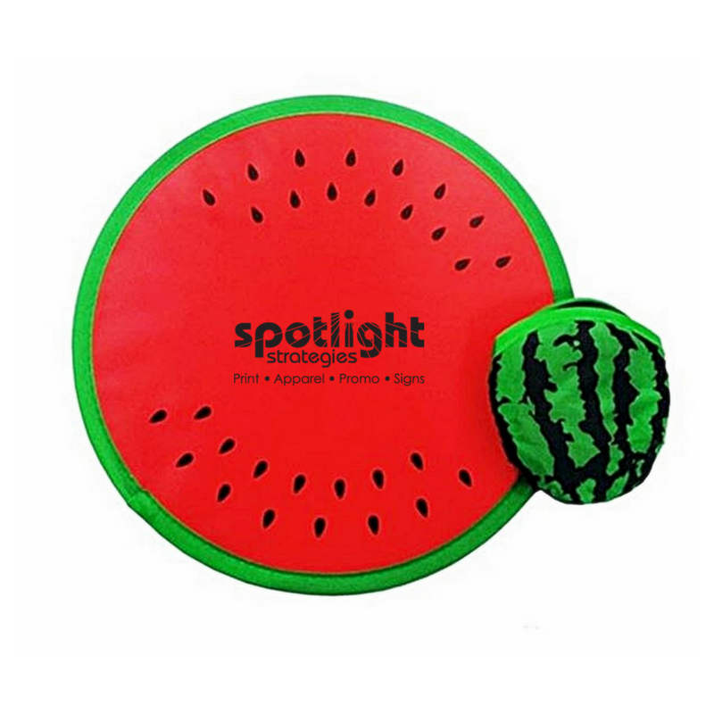 watermelon collapsible frisbee summer promo product click link to buy
