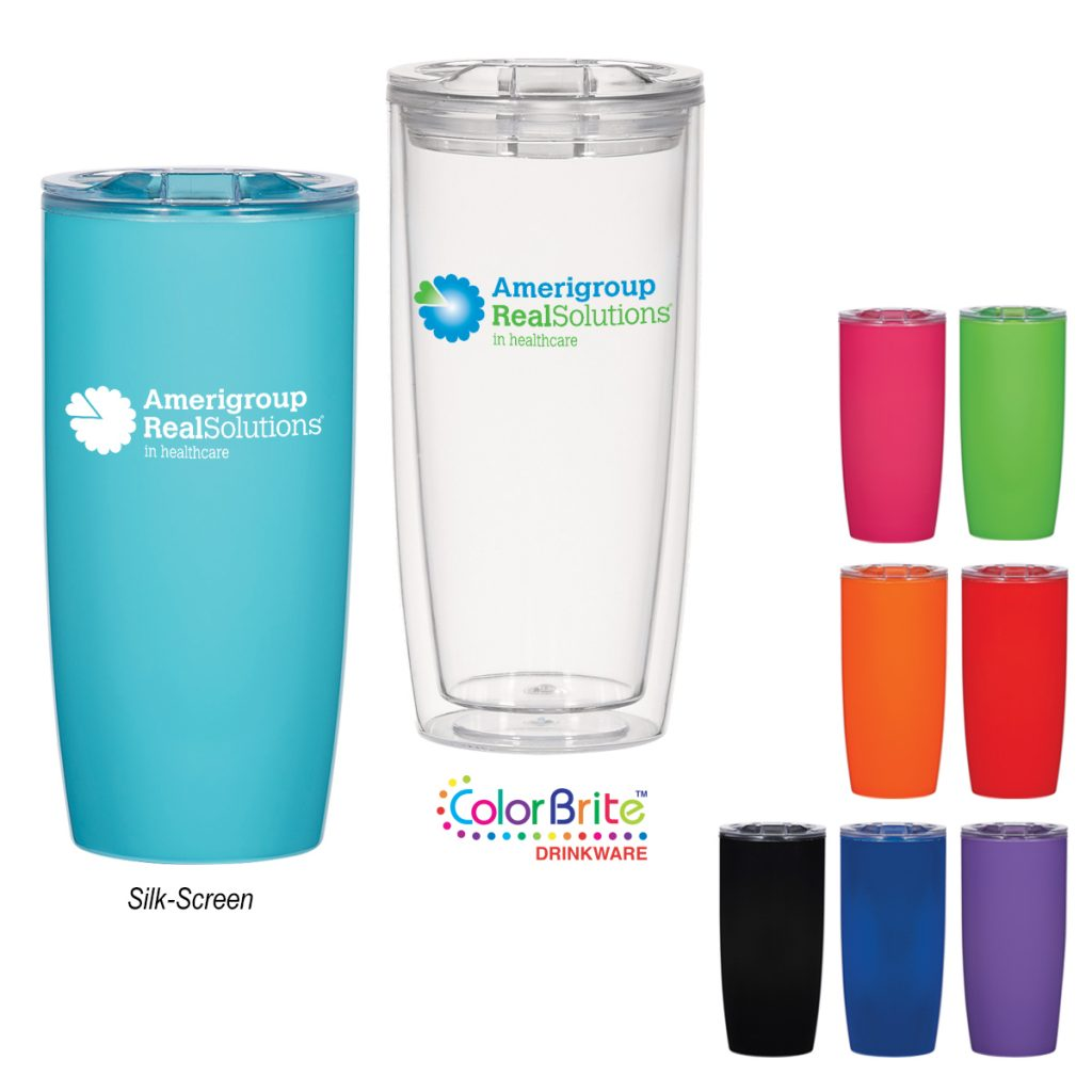 insulated tumbler with different color options summer promo product click link to buy