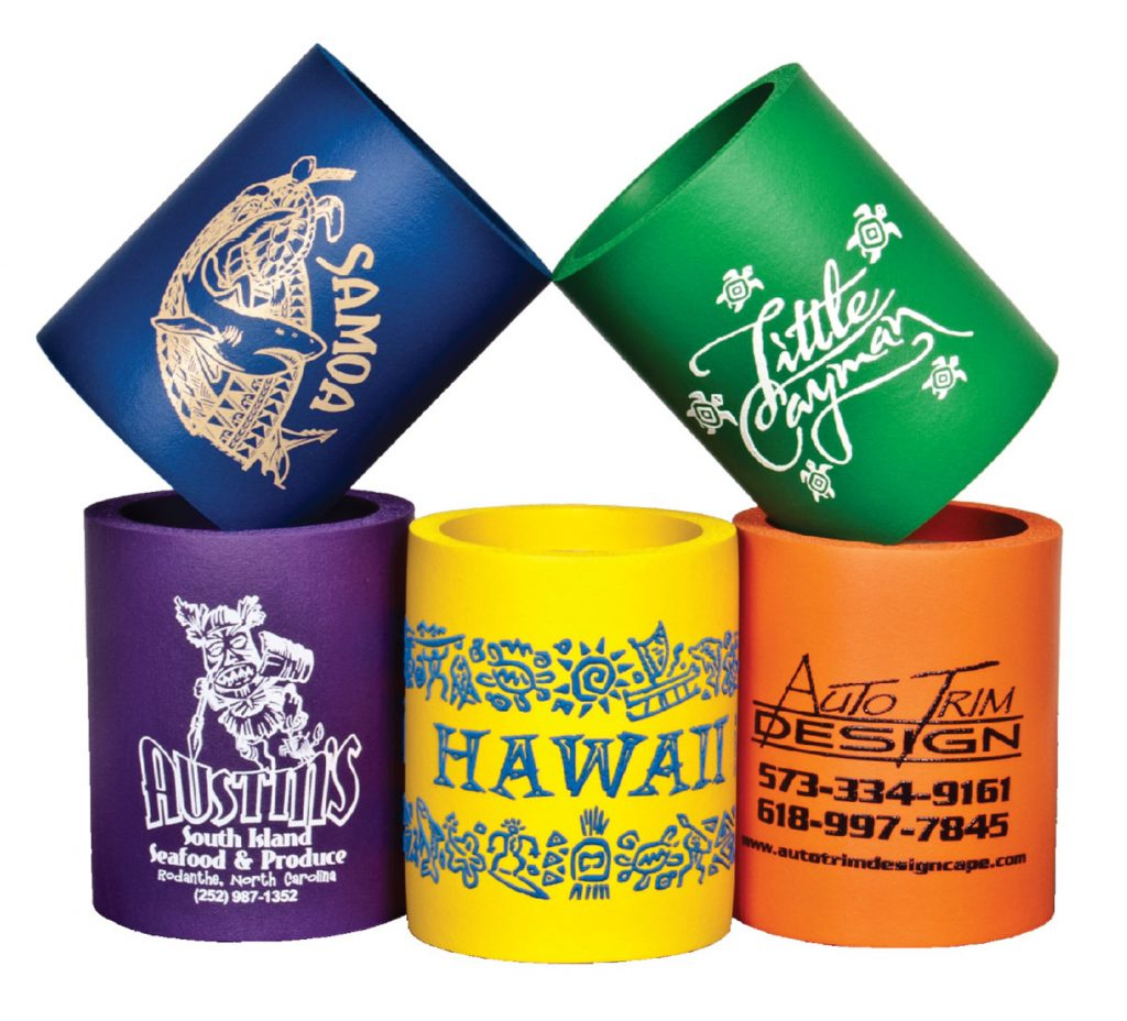 Different Color Can Coolers summer promo product click link to buy
