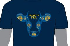 Franklin-FFA-Cow-Head