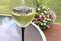 Promo Logo Wine Glass