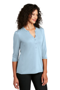 Port Authority ® Ladies UV Choice Pique Henley