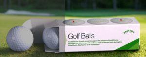 custom golf ball box
