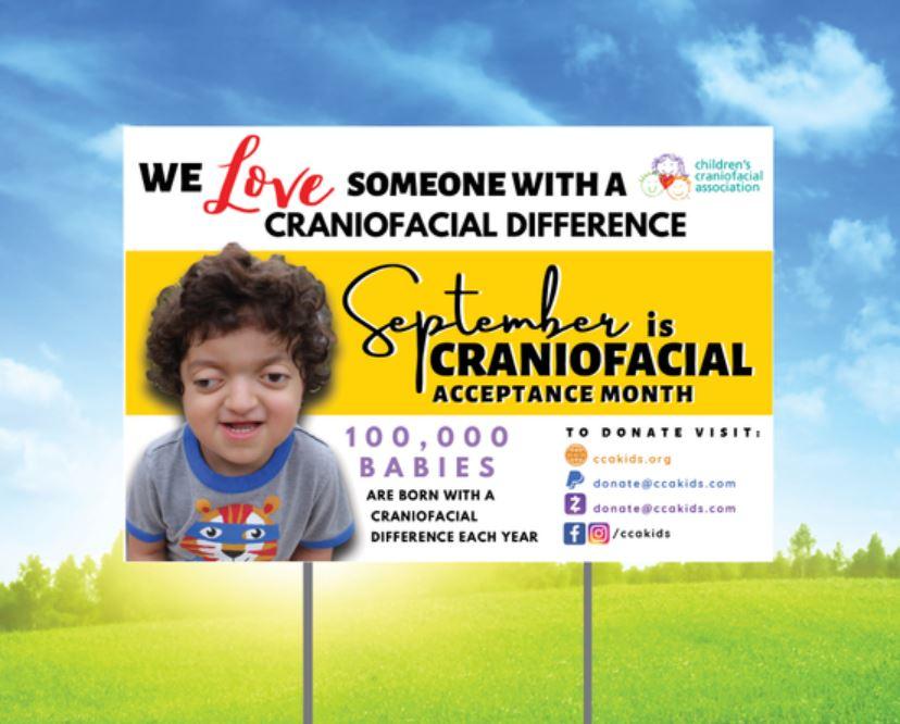 Children's Craniofacial Sign Awareness Campaign – Webstore