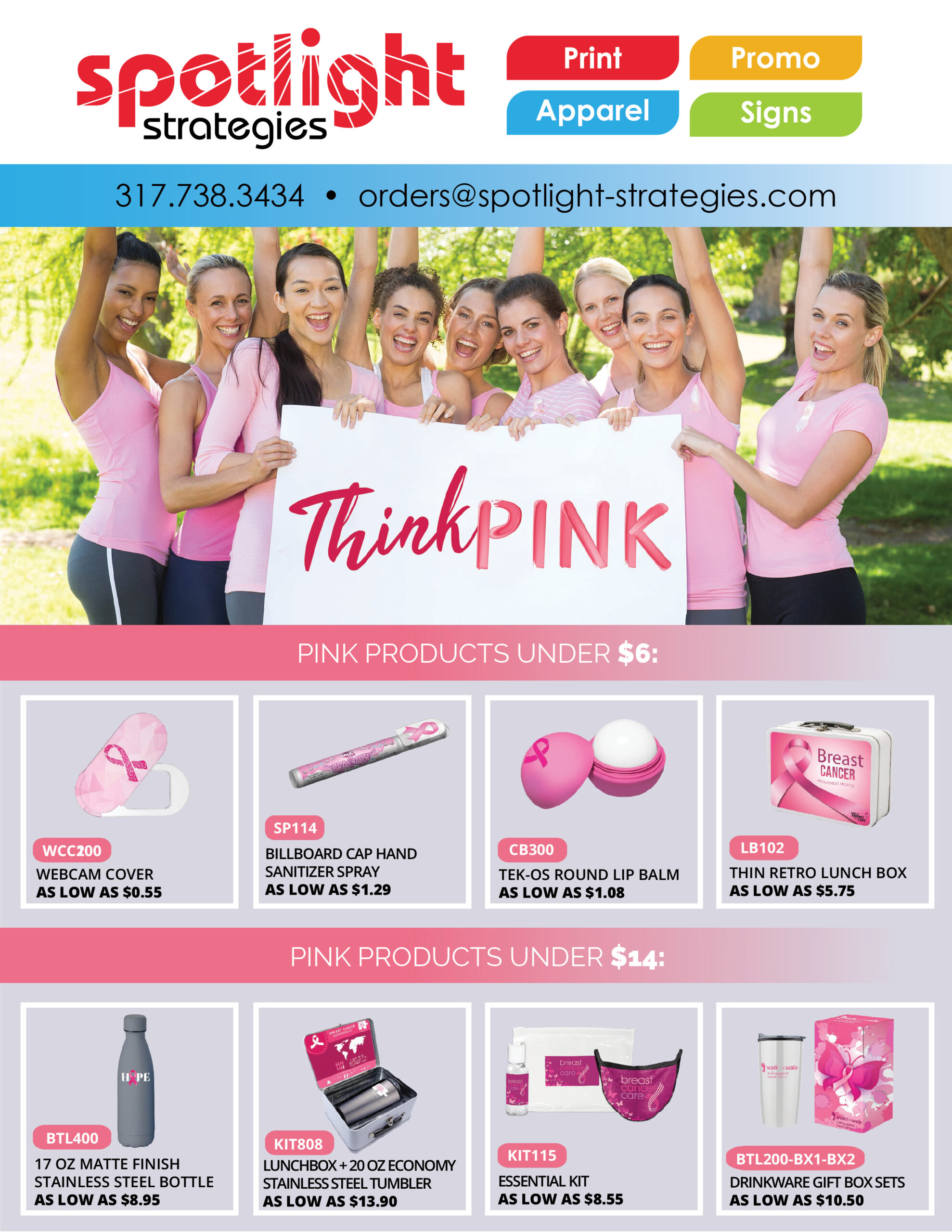 Support a PINK Cause!