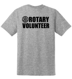 Rotary Volunteer t-shirt