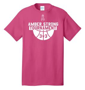 Amber Strong 3x3 Basketball Tournament T-Shirt